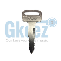 Yamaha Motorcycle Replacement Key Series B69097 - B62827 - GKEEZ