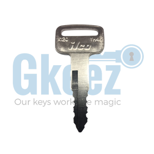 Yamaha Motorcycle Replacement Key Series A58613 - A62021 - GKEEZ