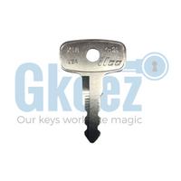 1 Yamaha Motorcycle Key Series  2676-2700 - GKEEZ