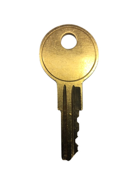 Allsteel Office Furniture Replacement Key Series AA1001 - AA1100