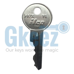 Yale Replacement Key Series TC1251 - TC1350