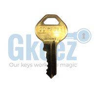1 Chevrolet GMC Console Replacement Key Series 001-100 - GKEEZ