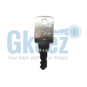 1 Haworth File Cabinet Replacement Key Series HW201-HW300 - GKEEZ