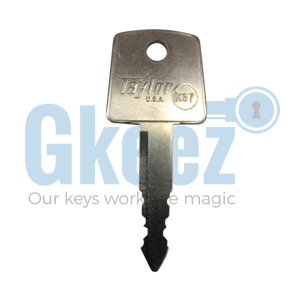 Honda Motorcycle Replacement Key Series 47222 - 47299 - GKEEZ