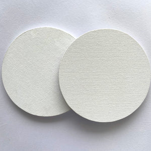 "6"" WOODEN ROUND CANVAS PANELS"
