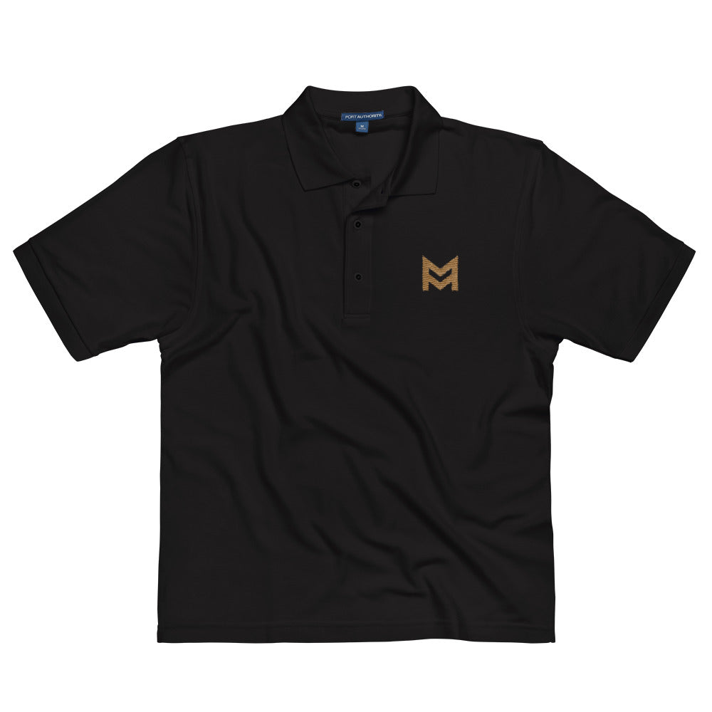 Mastermind.com (Embroidered Polo Shirt)