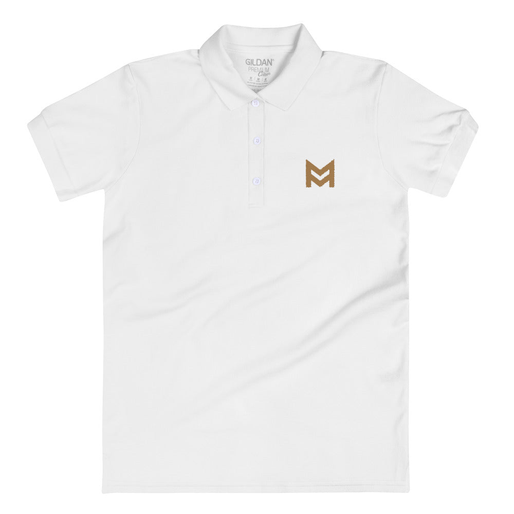Mastermind.com (Embroidered Women's Polo Shirt)