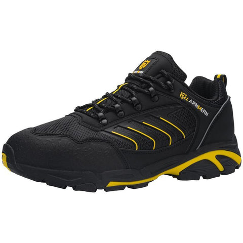 Larnmern Mens Steel Toe Shoes