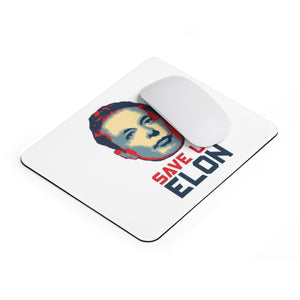 Save Us Elon Mousepad - Engg Merch