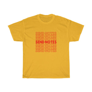 Send Notes T-Shirts - Engg Merch