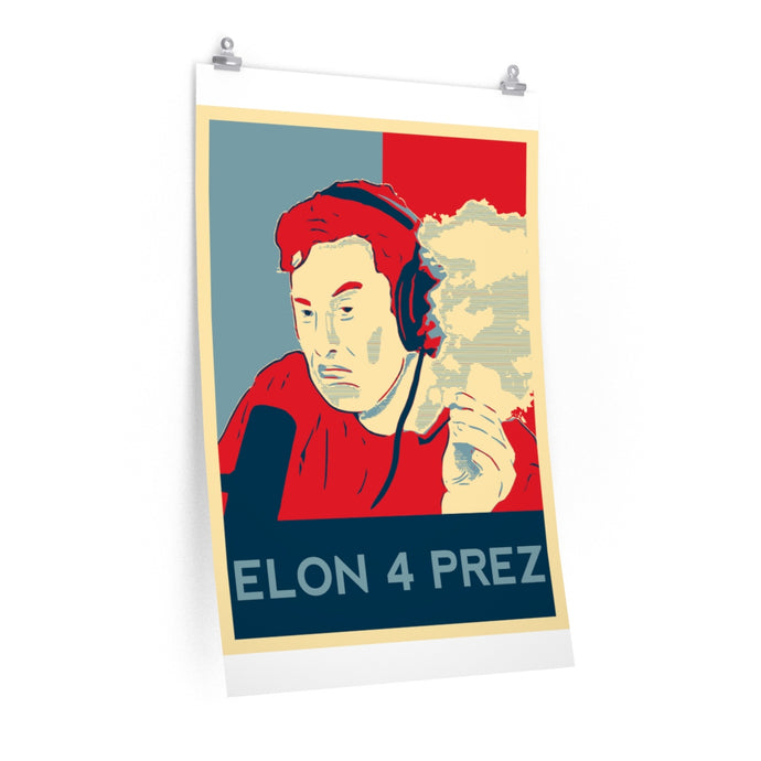 EM for President Posters - Engg Merch