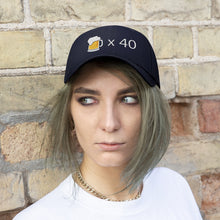 Load image into Gallery viewer, Forty Beers Embroidered Hat - Engg Merch