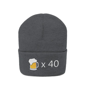Demolish Forty Beers Beanie - Engg Merch