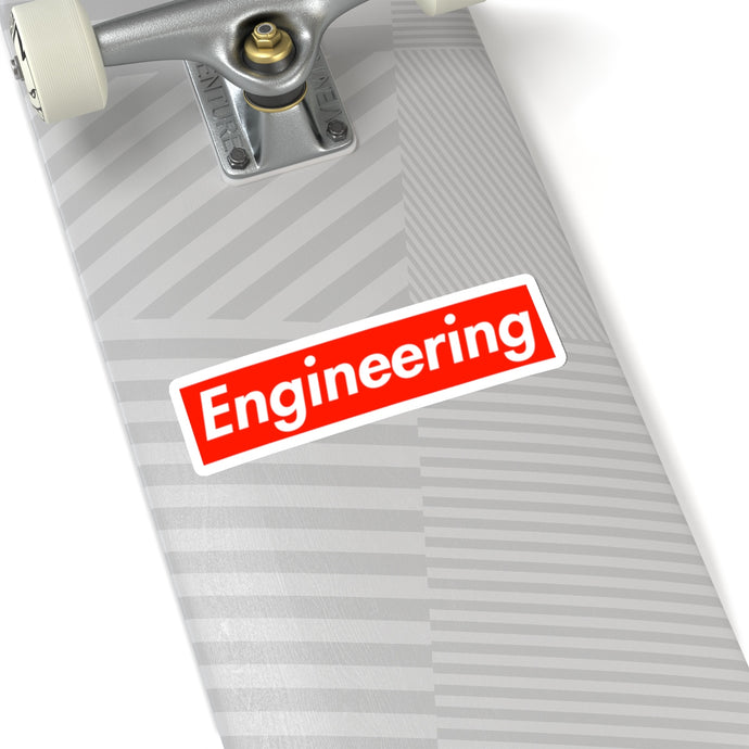 Engineering Stickers - Engg Merch