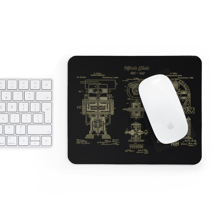 Nikola Tesla Mousepad - Engg Merch