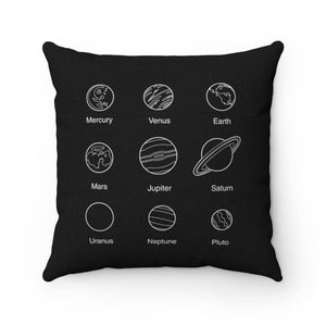 Planets Pillow - Engg Merch
