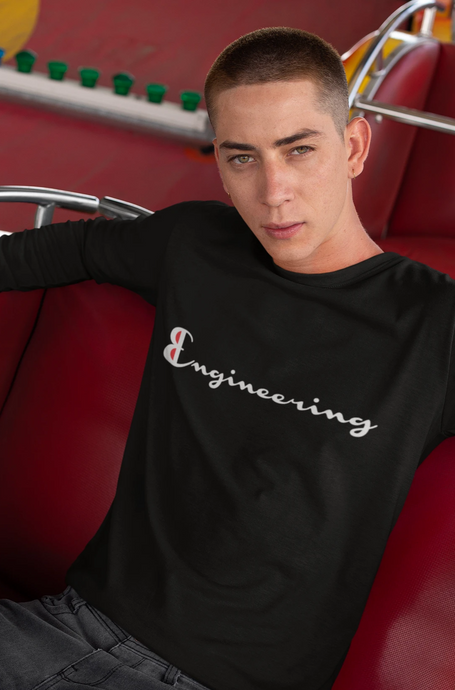 Engineering Champion Long Sleeve T-Shirt - Engg Merch