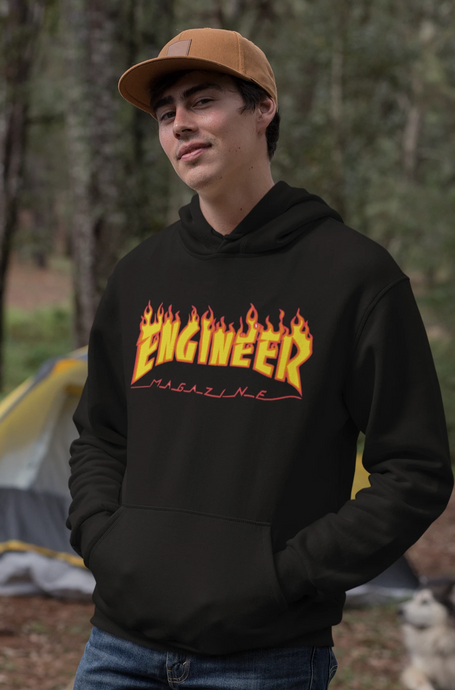 Engineer Thrasher Hoodie - Engg Merch