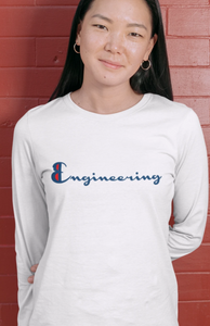 Engineering Champion Long Sleeve T-Shirt