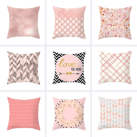 45x45cm Modern Minimalist Geometric Pillowcase - The Perfect Home Accesories