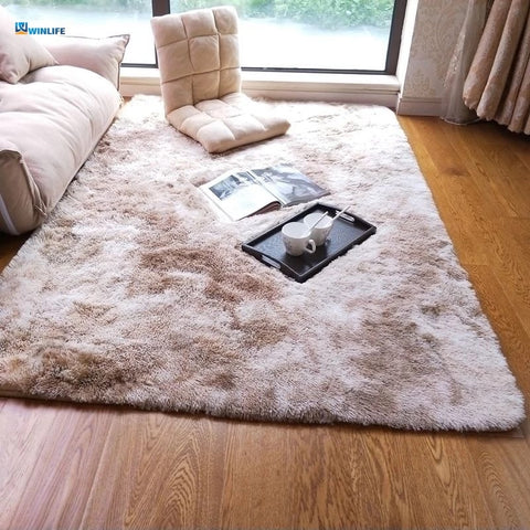 Nordic Solid Pile Plush Rugs