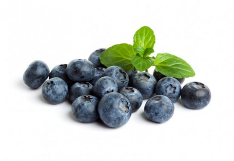blueberries for healthy hair