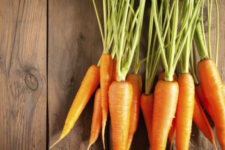 carrots for hair health