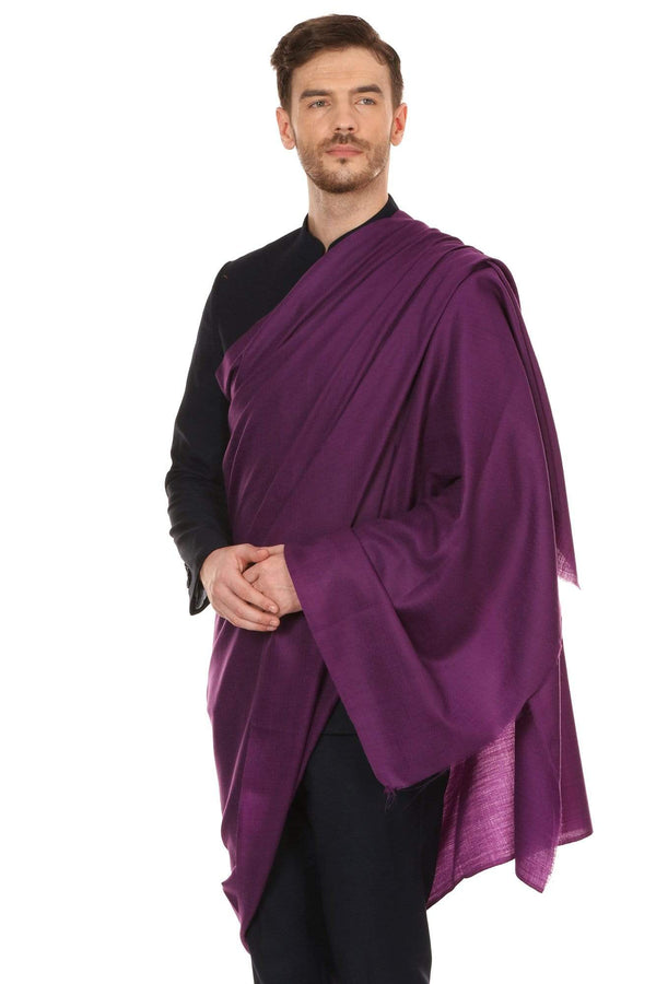 Pashtush Shawl Store Shawl Pashtush Royal and Classy Fine Wool Mens Stole