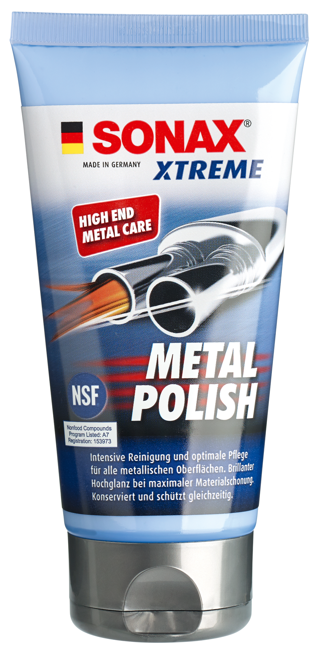 XTREME Metal Polish, cleans prevents tarnishing and shines.