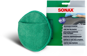 SONAX Microfibre Care Pad for Plastics