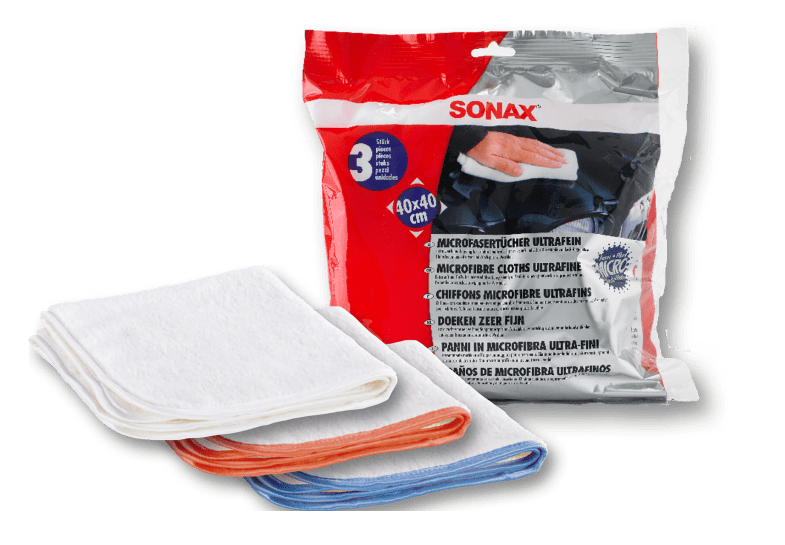SONAX Microfibre Cloths Ultrafine