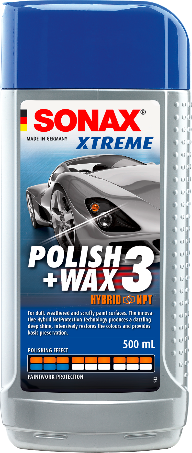 XTREME Polish + Wax 3 Hybrid NPT, older weathered paintwork.