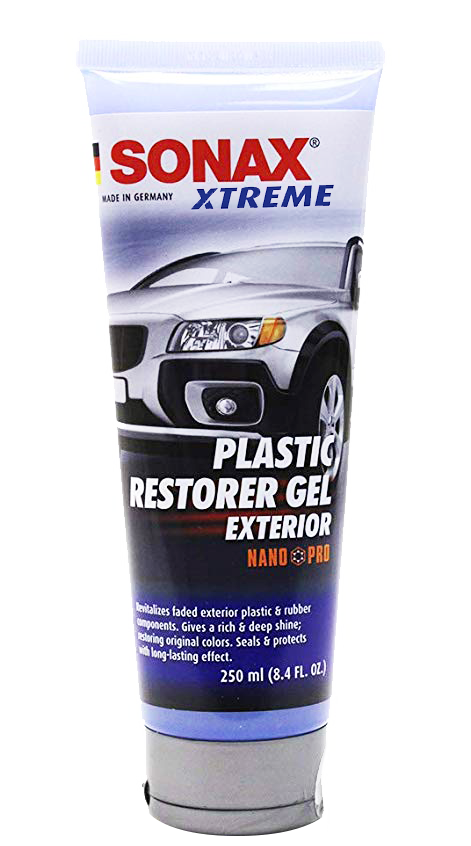 XTREME Plastic Restorer Gel Exterior, long-lasting protection.
