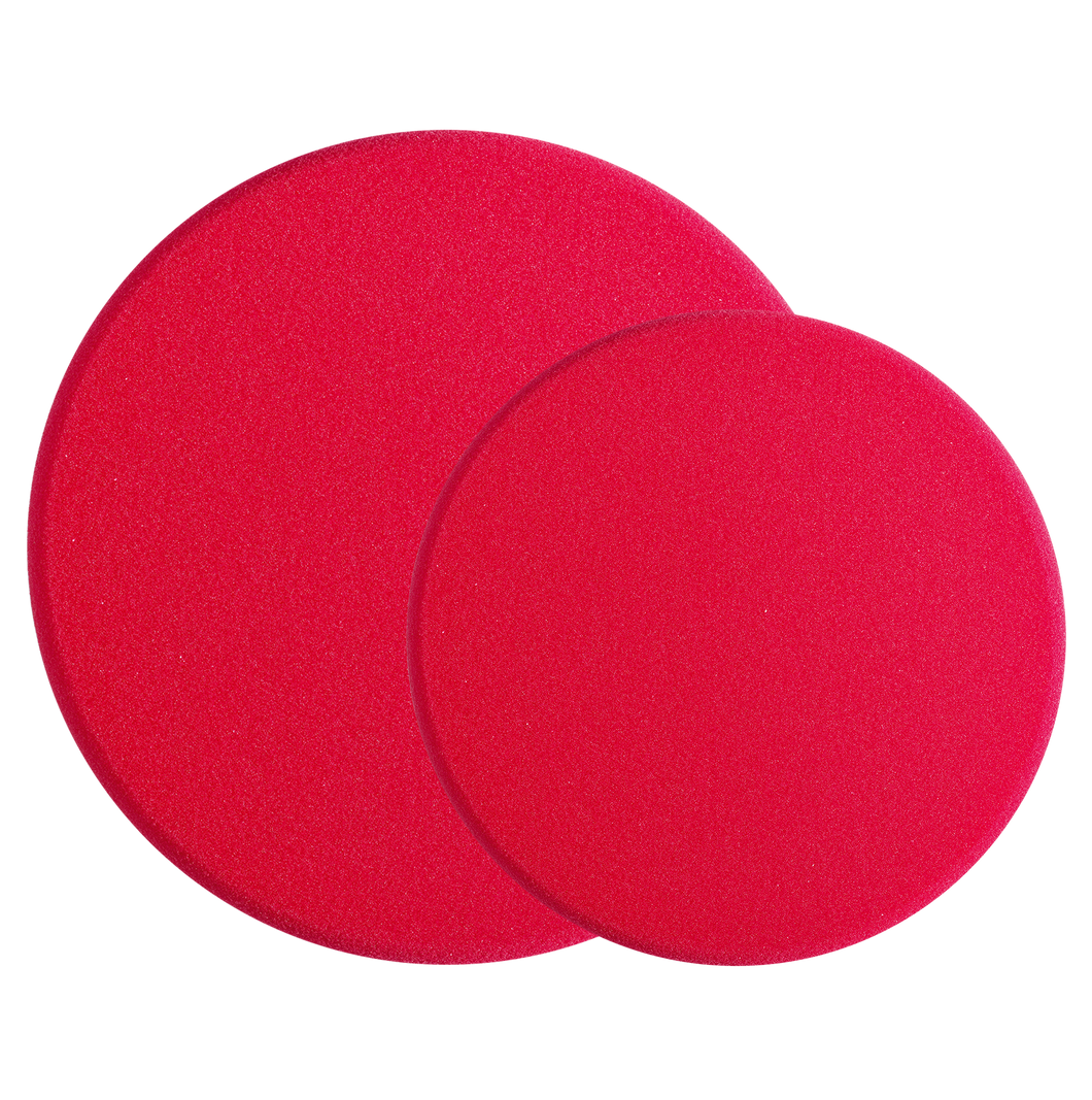 SONAX POLISHING SPONGE RED (HARD) -ABRASIVE PAD- 200mm/160mm
