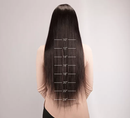 "24"" Straight Long Wigs For African American Women"