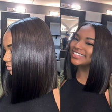 Load image into Gallery viewer, Short Lace Frontal Bob Wig