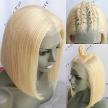 Load image into Gallery viewer, Popular Beautiful Hair Colorful Human Hair BOB Wigs