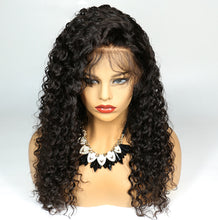 Load image into Gallery viewer, 100%  Human Hair Full Lace Wigs Deep Curly Hair