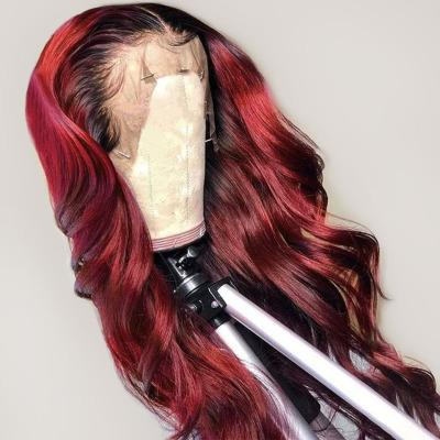 Lace Front Human Wigs Loose Wave Lace Wigs #Reddish