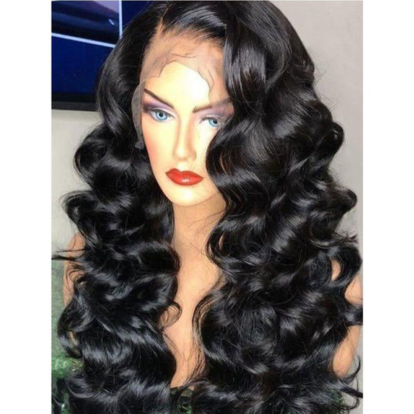 Natural Sexy Wave Brazilian Hair Lace Wig