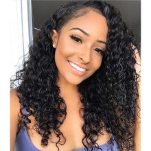 Load image into Gallery viewer, Lace Front Wig Curly Black Wig Creative Women Natural Hot Sale Comfortable