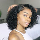 2019 NEW GLUELESS BASIC CAP LACE  SHORT CURLY WIG