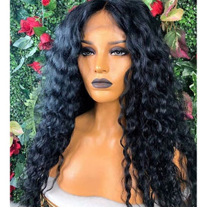 GLUELESS  LACE Curly WIG