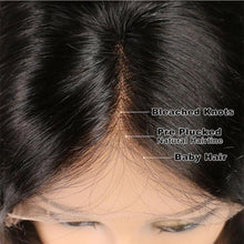 Load image into Gallery viewer, STRAIGHT HUMAN HAIR LACE WIG Brown Black Blonde Brown Mixed Gold