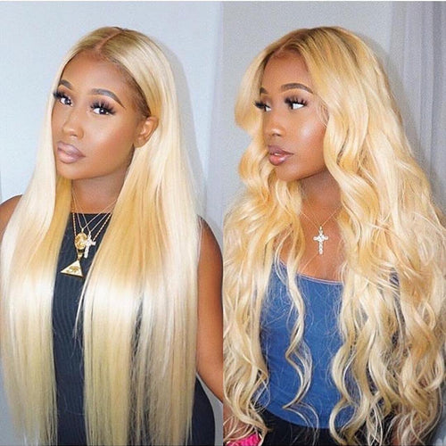 Blonde natural multiple hairstyle online hot wig