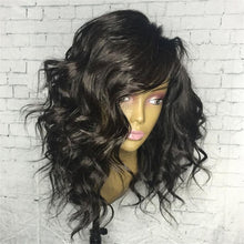 Load image into Gallery viewer, 14-18 INCH SHORT WAVY  HAIR  LACE FRONT WIG
