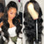 Long Body Wave Lace Wigs Brazilian 100% Human Hair Wig