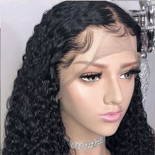 Brazilian Deep Curly Lace Wigs