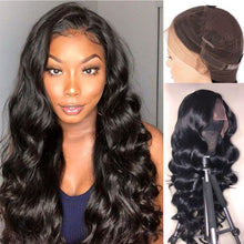 Load image into Gallery viewer, Brazilian Body Wave 360 Lace Wigs 120/140% Density