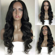Load image into Gallery viewer, Long Body Wave Cuticle Aligned Raw Brazilian Human Hair Wigs